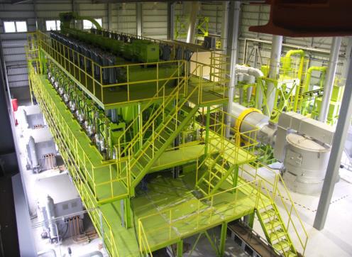Bio-coke manufacture facility