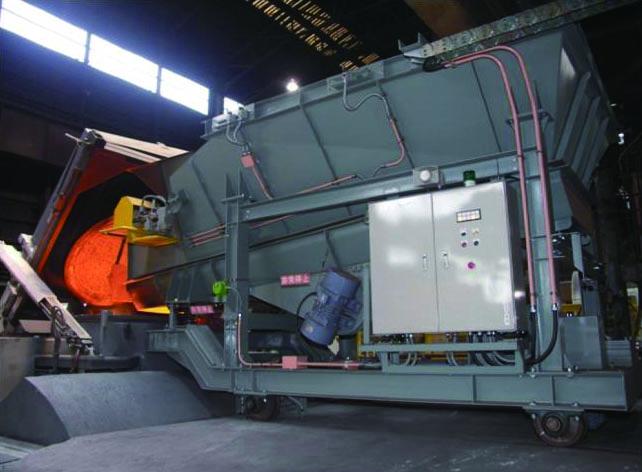 電気炉材料供給システム