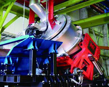 電気炉材料予熱装置